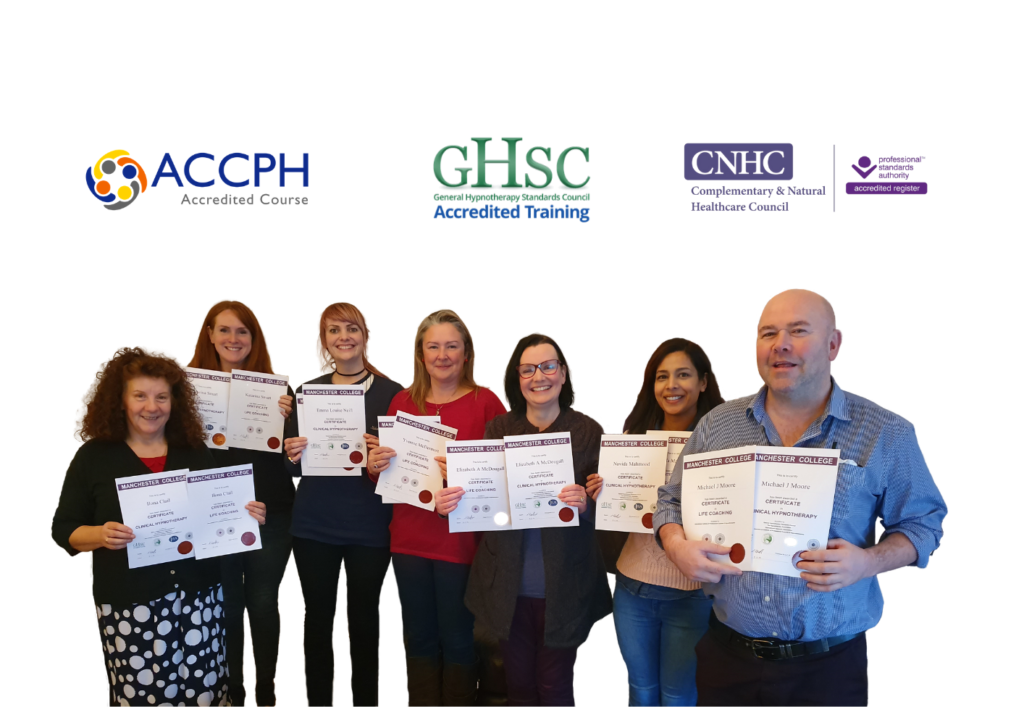 Students of the Hypnotherapy Training College and accreditations